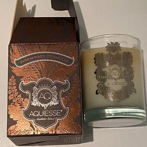 Aquiesse Sandalwood & Vanilla Candle
